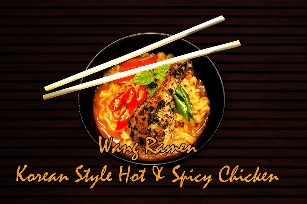 Hot Spicy Chicken Korean Style Noodles